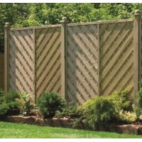 Decorative Lincoln Fence Panel 1830mm x 1800mm