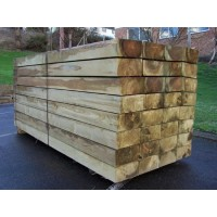 Softwood Treated Railway Sleepers 200mm x 100mm x 2.4m
